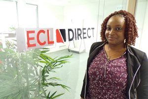 Jessica, collaboratrice comptable chez ECL Direct